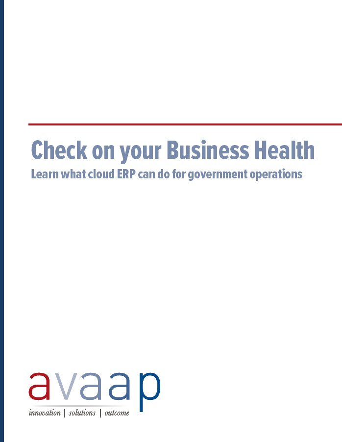 Check on your business health whitepaper